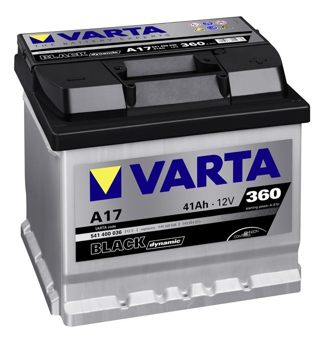 Varta BLACK dynamic A17