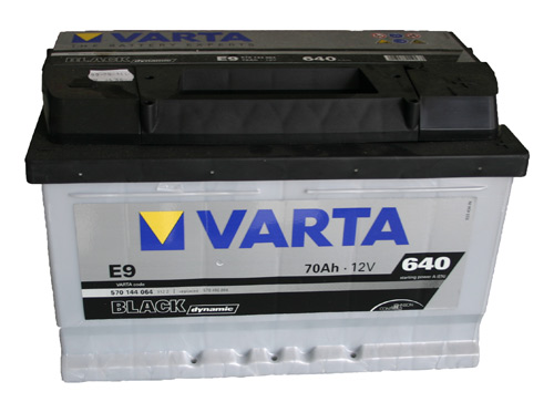 Varta BLACK dynamic E9